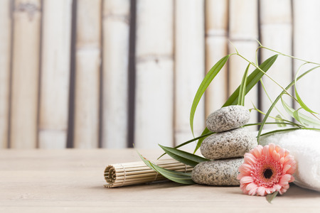 aromatherapy and wellness products Stock Photo - 34118297