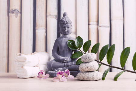spa and meditation background photo