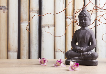 meditation background Stock Photo - 34118347