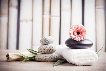 ayurveda concept for serenity and meditation Stock Photo - 34118431