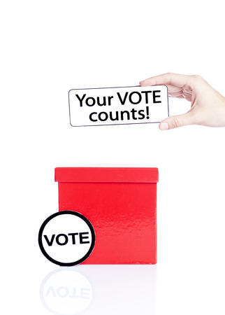local council election: vote Stock Photo