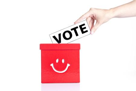 local council election: vote Stock Photo