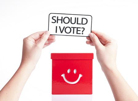 local council election: your vote counts, election concept