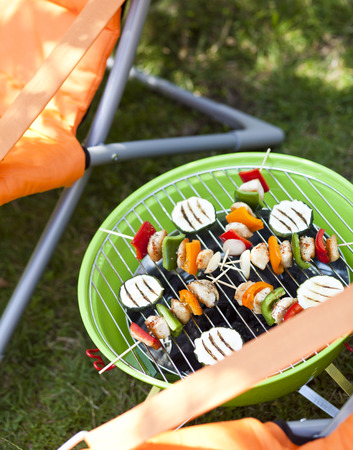 barbecue skewers photo