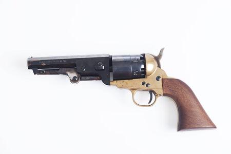 old revolver photo