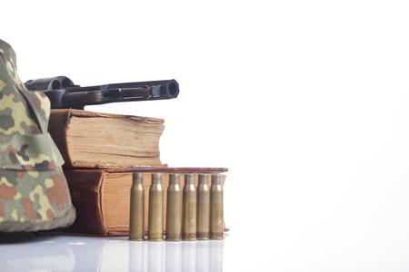 venal: army equipment, war concept