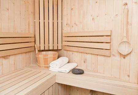 sauna accesories Stock Photo