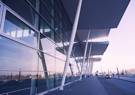 wroclaw: New Wroclaw airport terminal in Poland