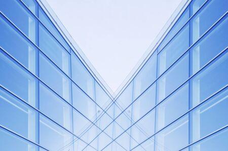Extracto de la pared de cristal