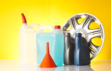 fluids: car accessories and windshield washer fluids