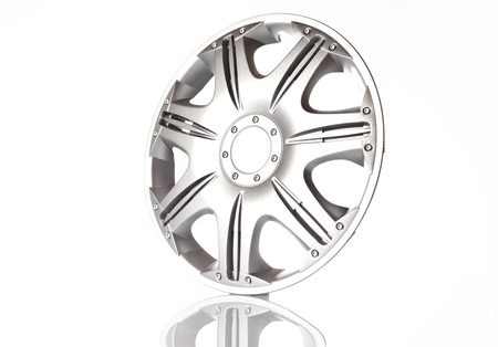 alloy wheel on white background photo