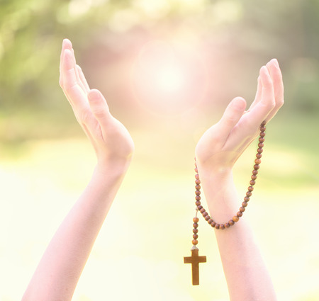 miracle religious background Reklamní fotografie