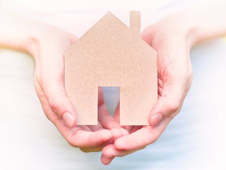 safe house: safe house concept Stock Photo