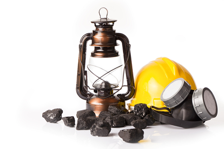 calorific: Oil lantern tools coal mining