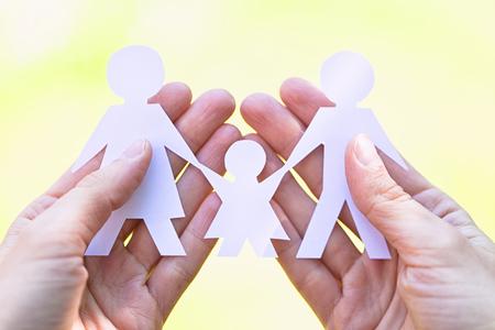 happy family concept: happy family concept