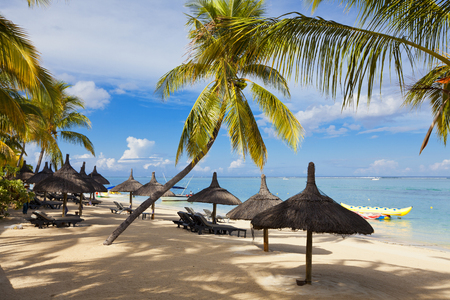 Mauritus, tropical travel resort
