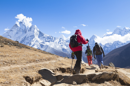 Nepal, way to Mount Everest base camp