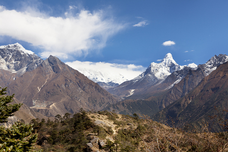 Nepal, way to Mount Everest base camp