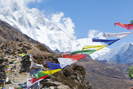 Way to Mount Everest base camp