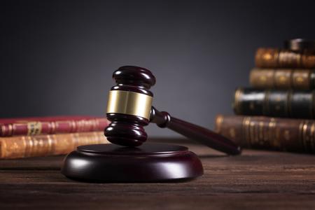 kancelaria prawników i adwokatów. Sędzio Gavel,