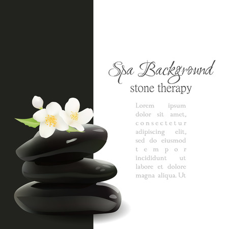 stacked stones: Spa