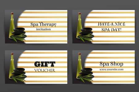 tea tree: Oil Cosmetic Bottle with Spa Stones and Tea Tree. Template  Cosmetic Shop, Spa Salon, Beauty Products Package, Medical Care Treatment. Invitation Cards, Vouchers, Advertisement, Business. Illustration