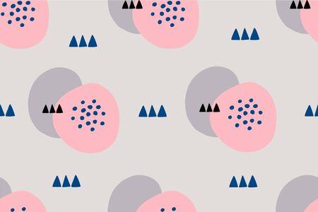 Abstract simple modern background. Seamless vector hand drawn pattern 版權商用圖片 - 147213277