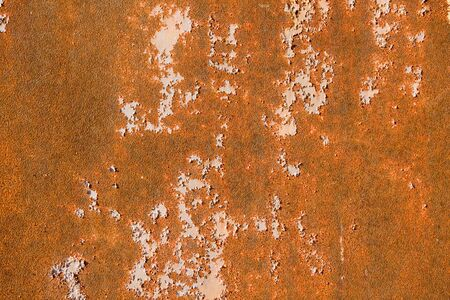 Texture of old and rusty metal plate Stock Photo - 4581607