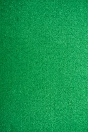 fibres: Close-up of green poker table felt background