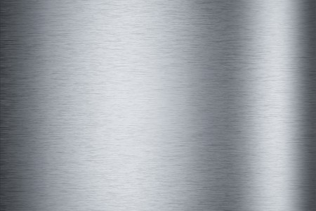 Brushed aluminum metallic plate useful for backgrounds Stock Photo - 8114322