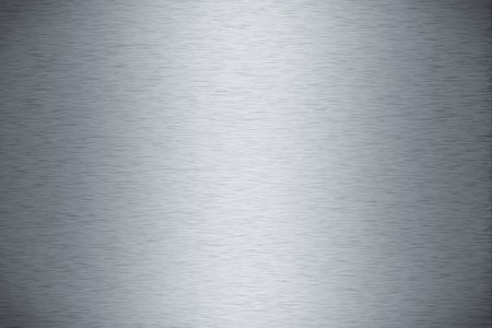 Brushed aluminum metal plate useful for backgrounds Stock Photo - 8175532