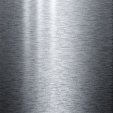 Brushed aluminum metal plate useful for backgrounds Stock Photo - 8288525
