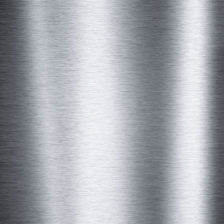 acier: En aluminium brossé métallique de la plaque utile pour les milieux