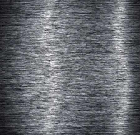 Brushed aluminum plate background