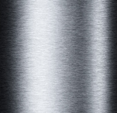 brushed metal: Aluminum metal background with reflections useful for background Stock Photo