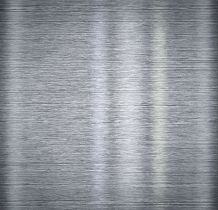 Aluminum metal plate backgound with reflections Stock Photo - 10038470