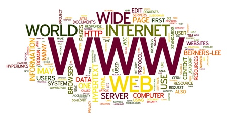 WWW concept words in tag cloud Stock Photo - 10134873