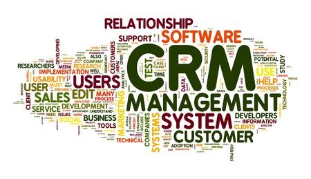 relation clients: Gestion de la relation client syst�me CRM dans le nuage de Tags de mot