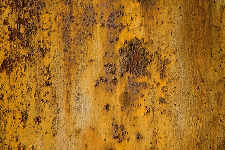 oxidized: Old grunge and rusty metal plate Stock Photo