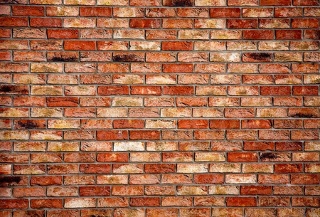 brickwalls: Old brick wall - architectural background texture