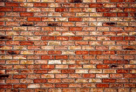 brique: Vieux mur de briques - texture de fond d'architecture