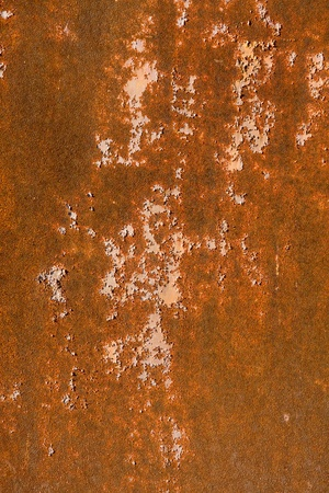 Old grunge and rusty metal plate Stock Photo - 10960095