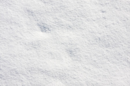 Detailed snow texture background photo