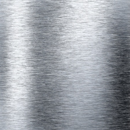 polished: Brushed metal aluminum background or texture Stock Photo