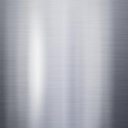 brushed aluminium: Brushed metal aluminum background or texture Stock Photo