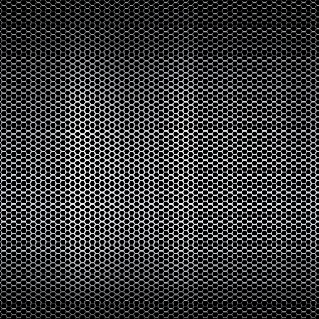 metal grid: Metal mesh texture background with reflections Stock Photo