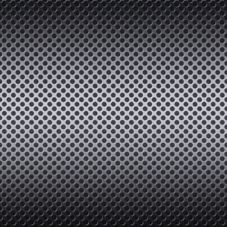 Metal mesh texture background with reflections photo