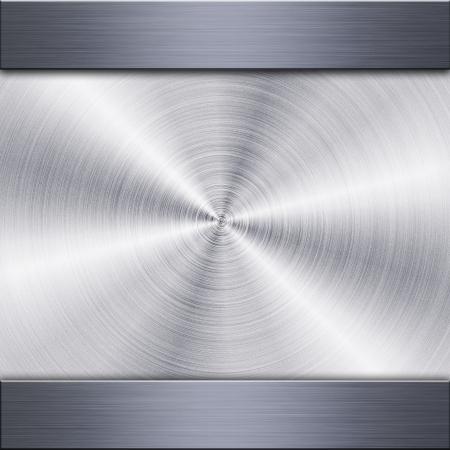 reflect: 원형 모양의 반사와 닦 았 금속 접시의 배경