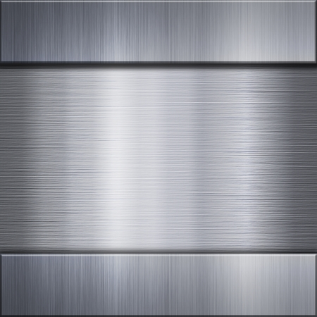 brushed metal: Brushed metal aluminum background or texture Stock Photo