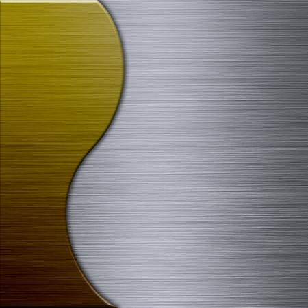 brushed aluminum: Brushed metal aluminum background or texture Stock Photo
